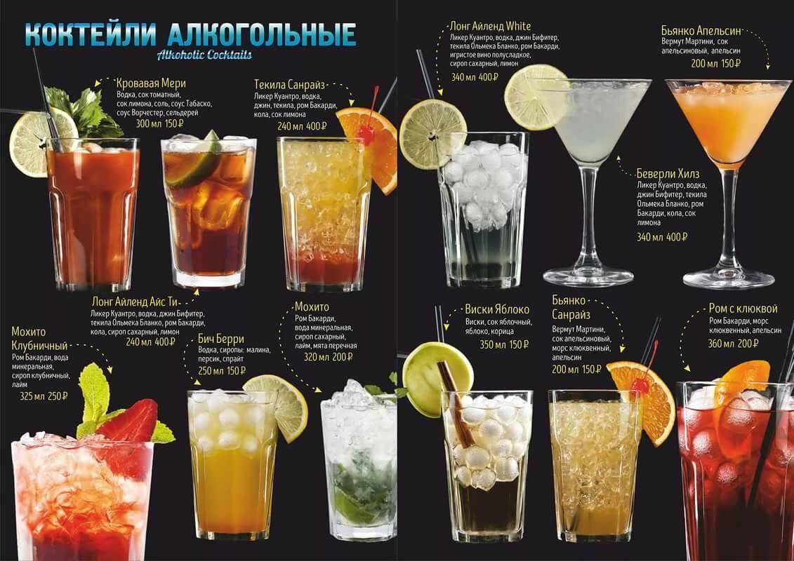 Самый сложный в приготовлении коктейль в мире - топ-5
