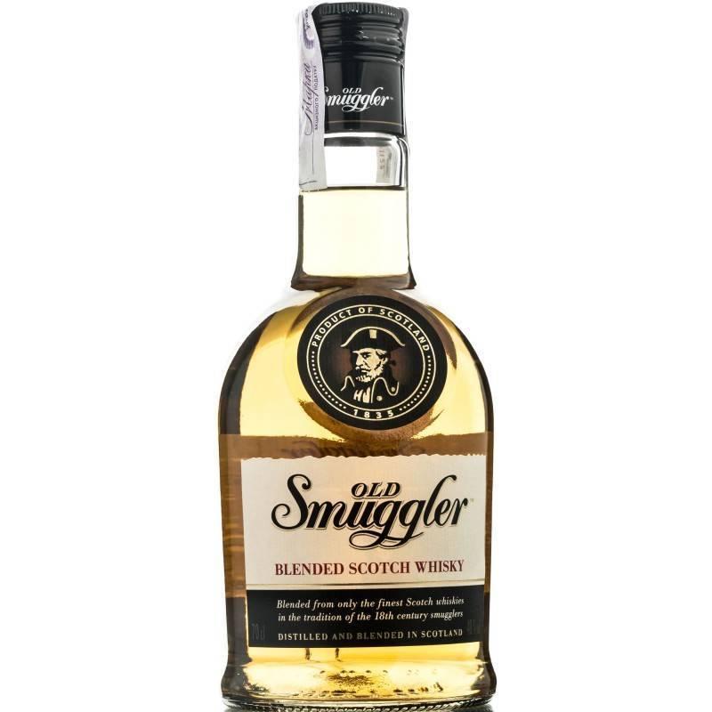 Виски old smuggler (олд смагглер) и его особенности