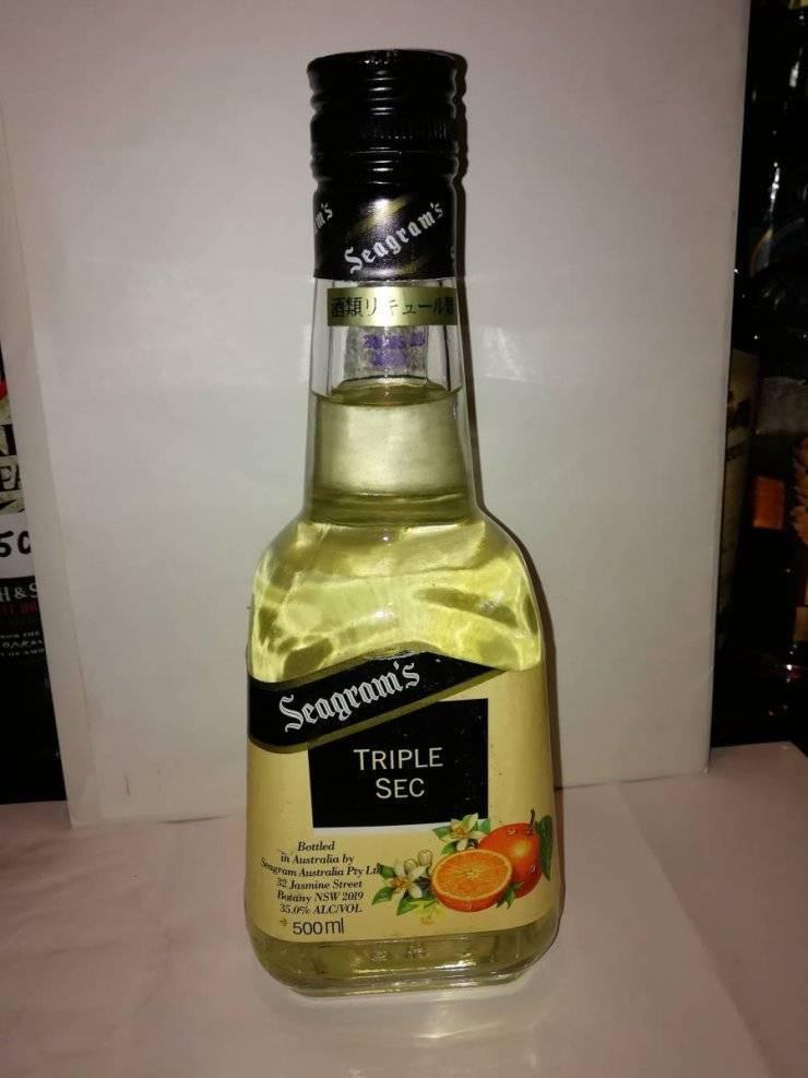 Ликер трипл-сек: рецепты коктейлей