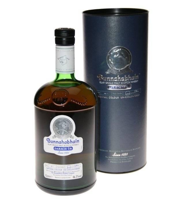 Виски буннахавэн (bunnahabhain): описание и виды марки
