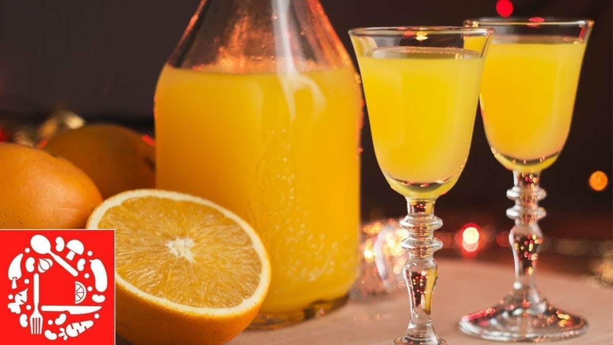 Апельсиновый ликер в домашних условиях - рецепт