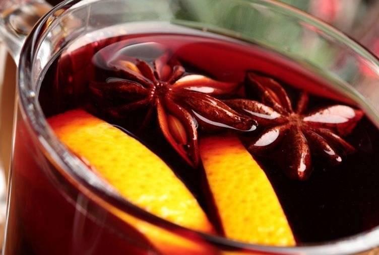 Горячее вино от кашля с перцем