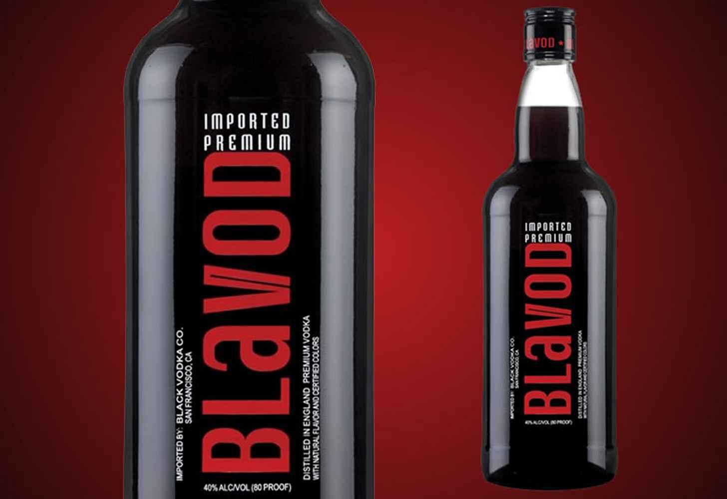 История и особенности состава водки blavod. как правильно пить черную водку?