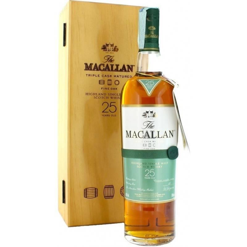 Односолодовый виски макаллан гордость шотландии из спейсайда, разливается в бочки из дуба после хереса