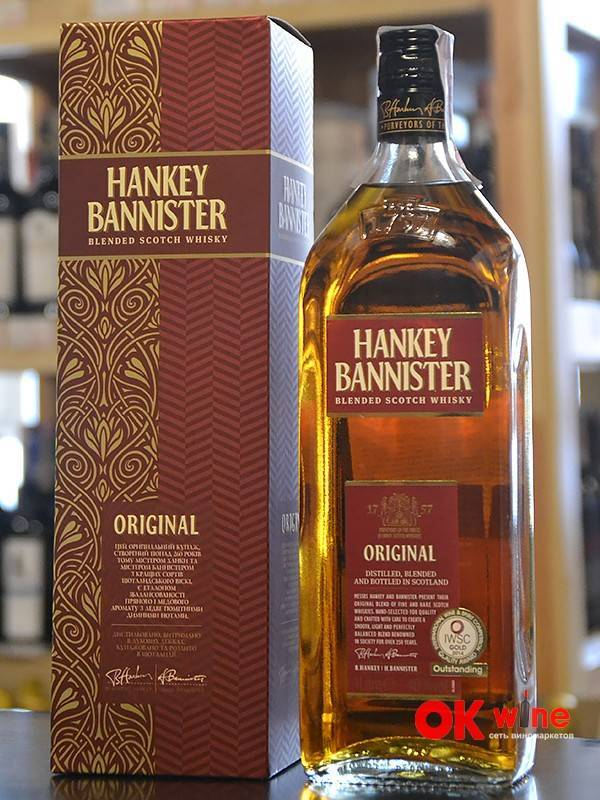 Виски hankey bannister (ханки баннистер) и его особенности