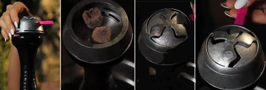 Сколько угля нужно класть для кальяна?