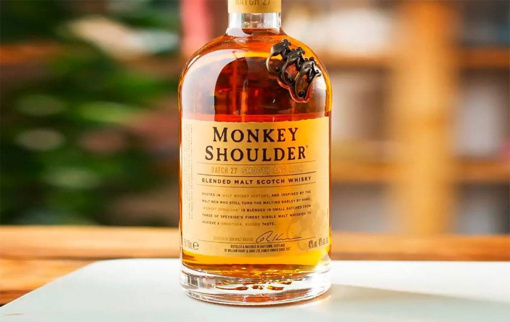 Виски monkey shoulder (манки шолдер) и его особенности