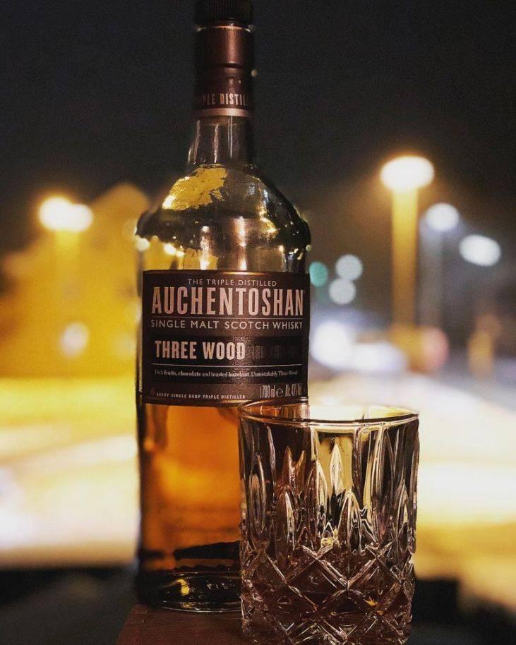 Обзор виски auchentoshan окентошен