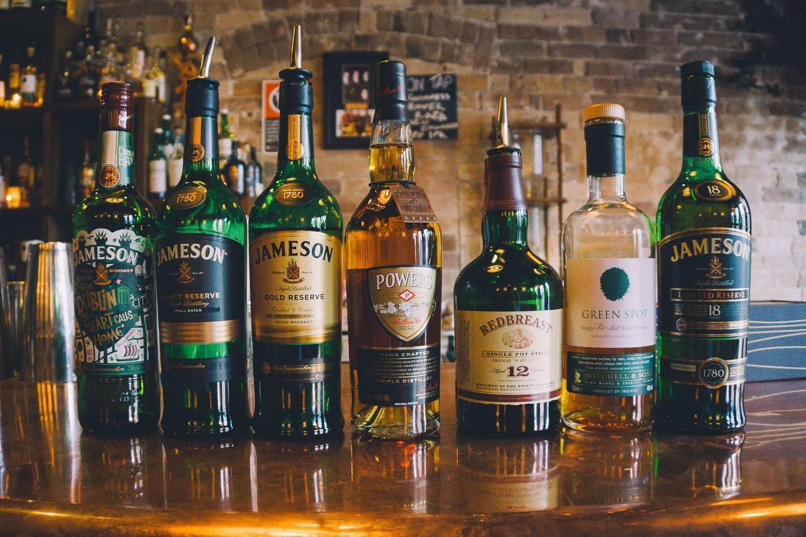 Ирландское виски — марки, особенности производства