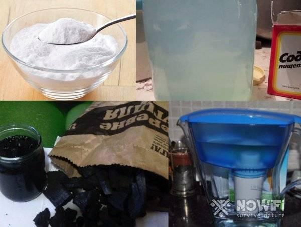 Очистка самогона содой и солью: способы и правила