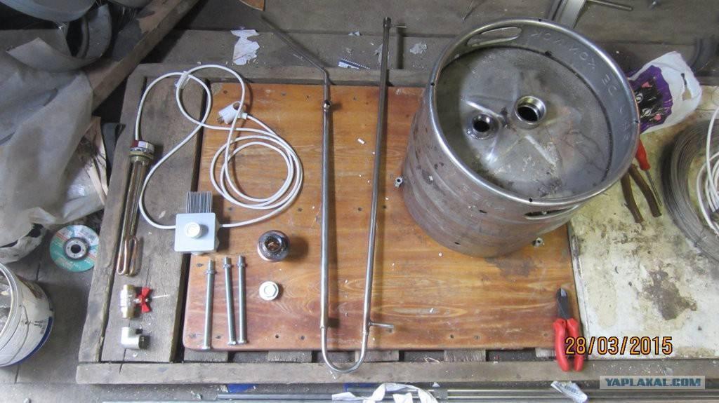 Перегонный куб из пивной кеги: как собрать конструкцию
