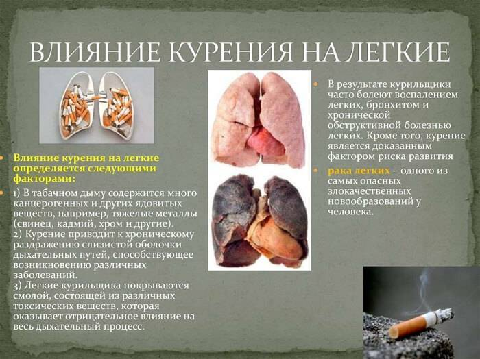 Химическая природа негативных последствий для организма человека курения и алкоголя