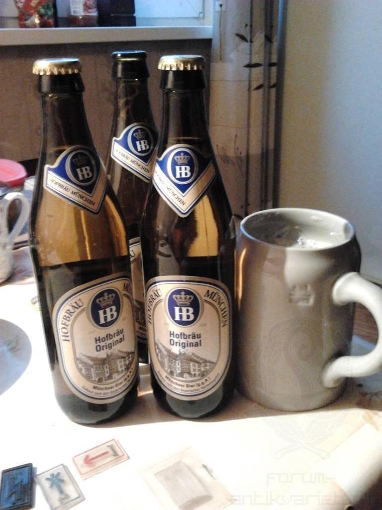 """Пиво """"hofbrau"""" original, 0.5 л - """"хофброй"""" оригинальное, 500 мл"""