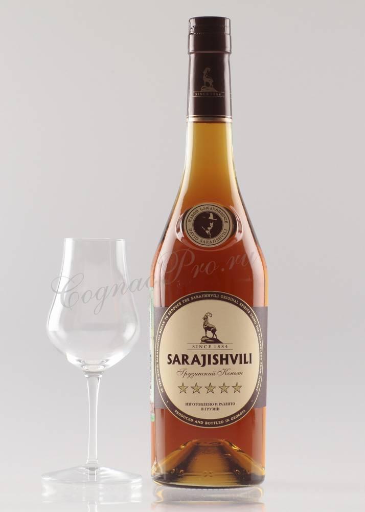 Коньяк сараджишвили (sarajishvili) – историческое достояние грузии