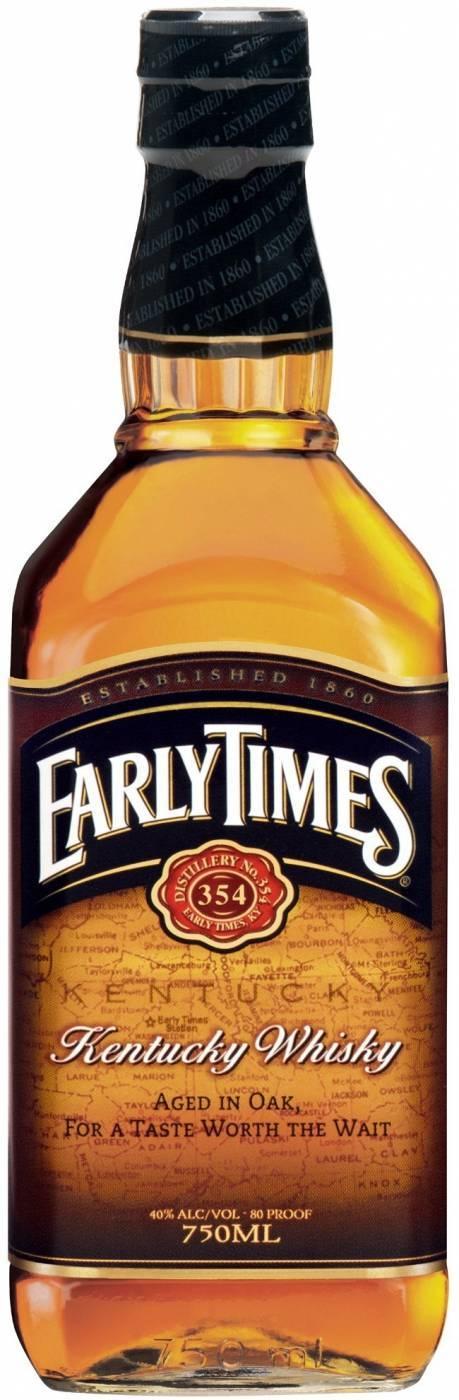 Виски бурбон early times (ирли таймс) и его особенности