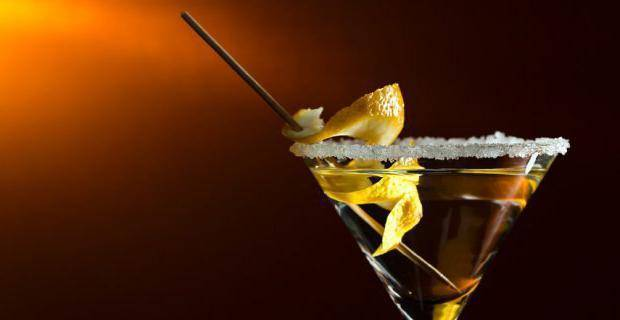 Коктейли с мартини - рецепты в домашних условиях с водкой, шампанским, соком и джином