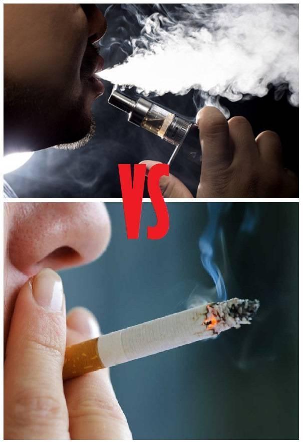 Как курить электронную сигарету, правильно затягиваться?
