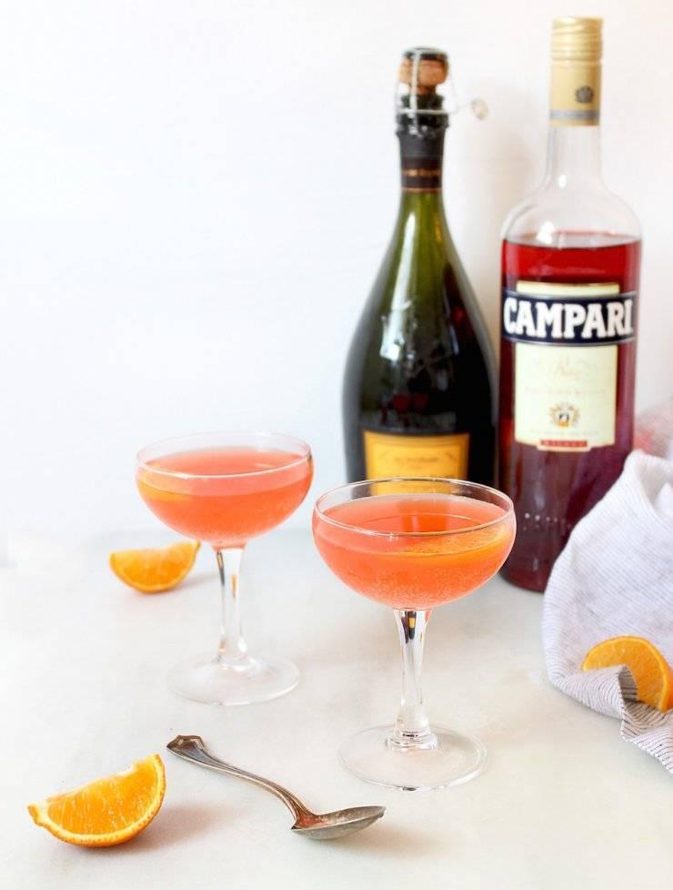 Коктейли с кампари рецепты в домашних условиях — история алкоголя
