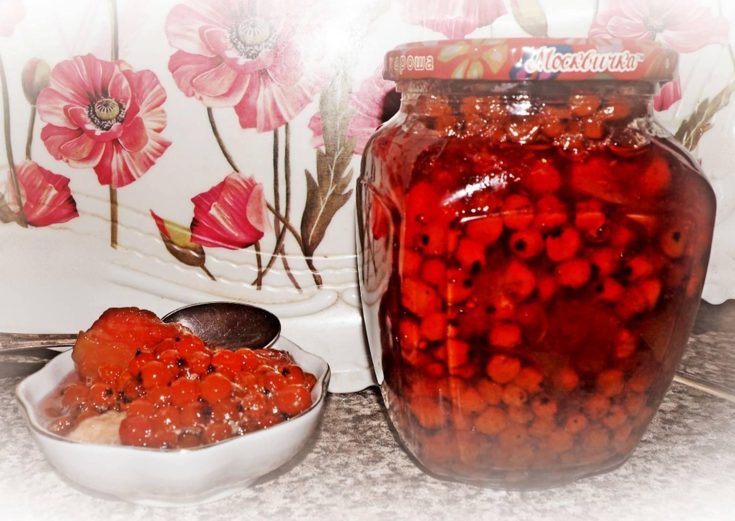 Варенье из красной рябины на зиму - польза и простые рецепты
