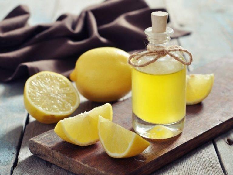 Настойка на лимоне на спирту