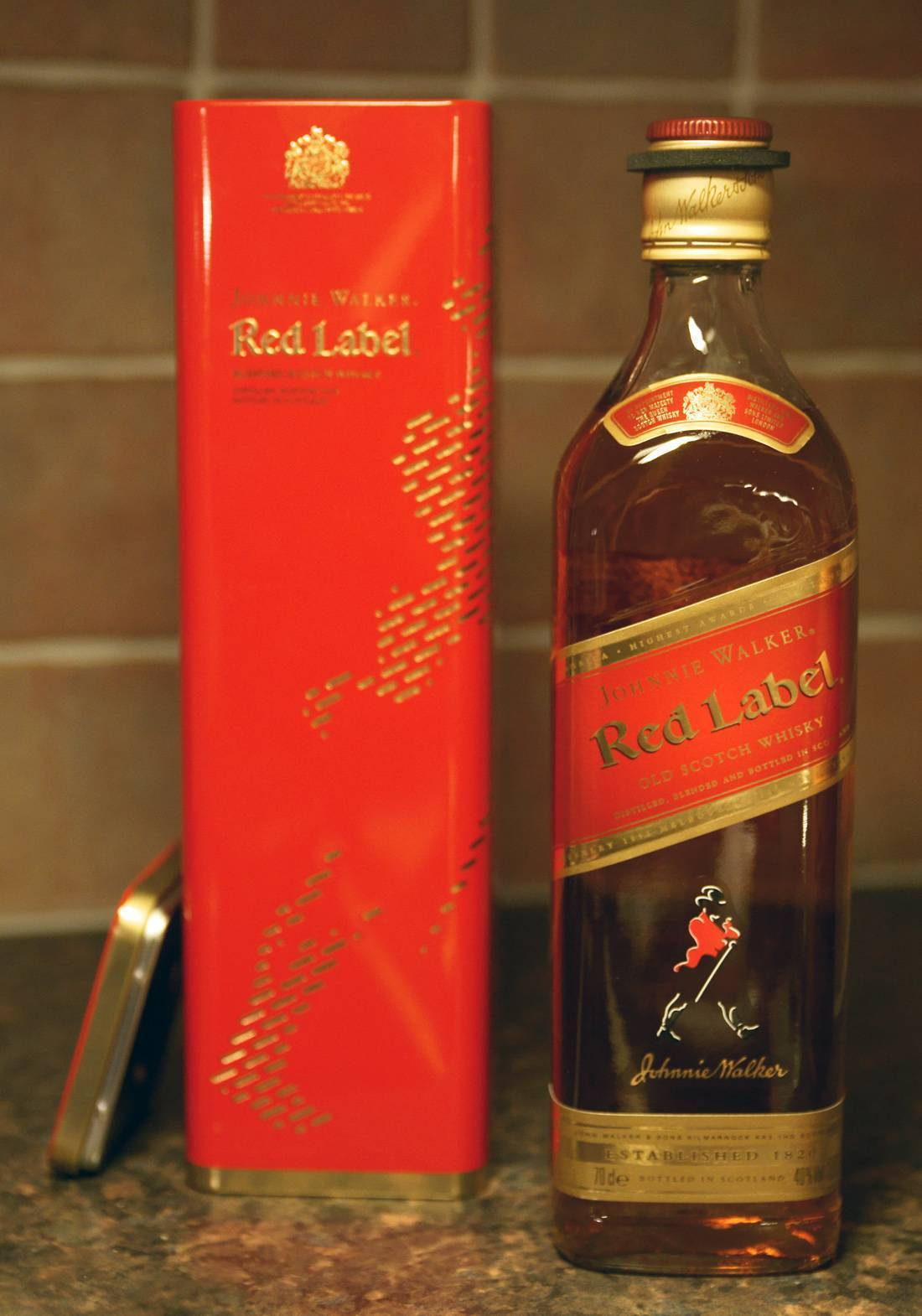 Обзор виски johnnie walker red label (джонни уокер ред лейбл)