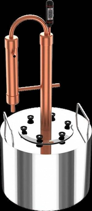 Медный самогонный аппарат: особенности дистиллятора, что лучше — медь или нержавейка, как сделать своими руками