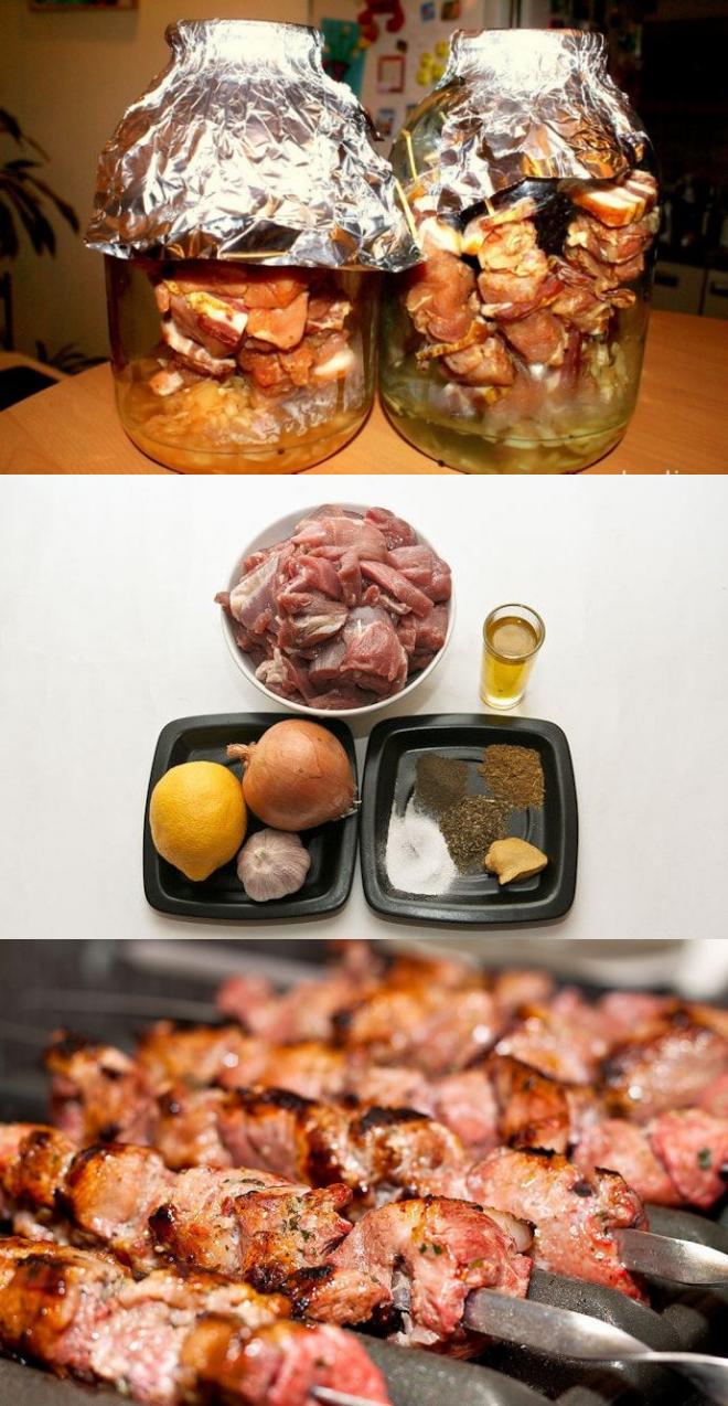 Шашлык из свинины в пиве - 8 пошаговых фото в рецепте