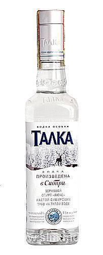 Обзор водки Талка