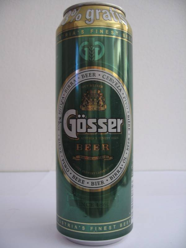 Пиво гессер (gosser) — эталон вкуса и качества