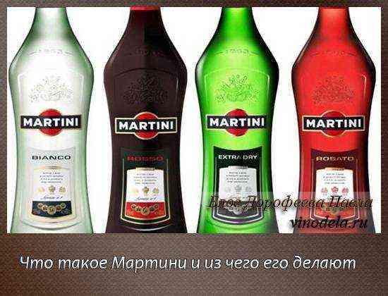Из чего делают мартини, как приготовить напиток
