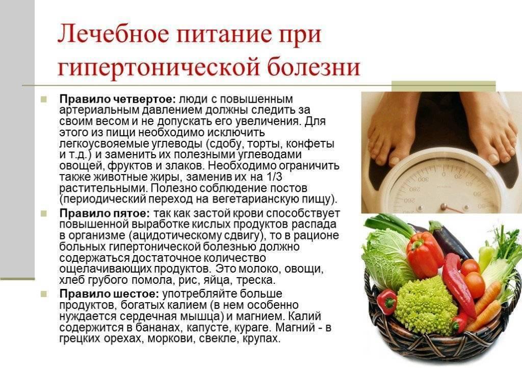 Какие продукты понижают артериальное давление при гипертонии у человека список диета — заболевания сердца