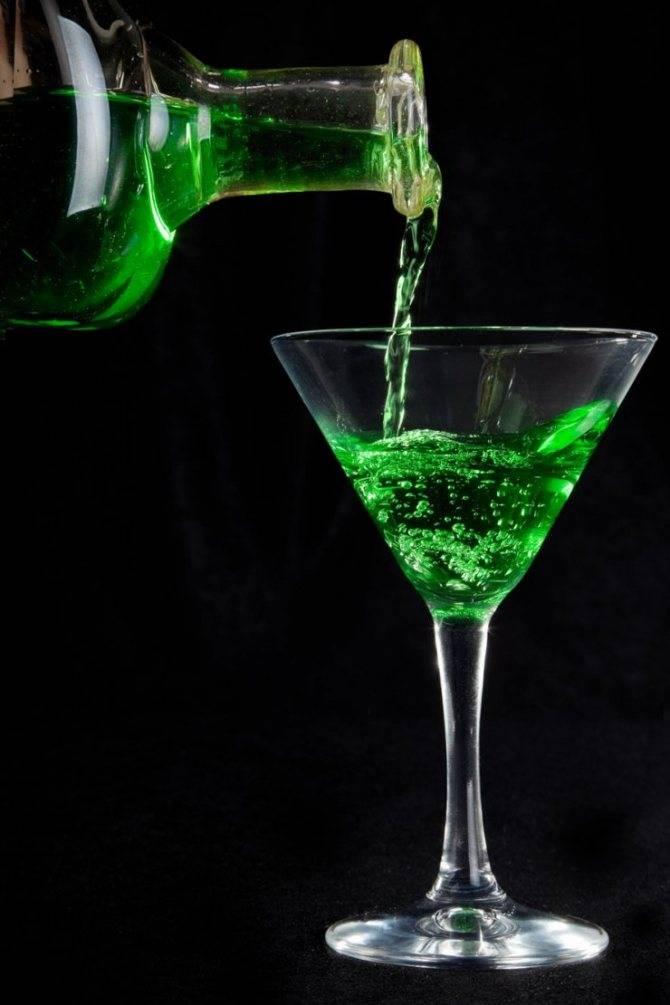 Зеленая фея коктейль для безумцев. секреты приготовления напитка