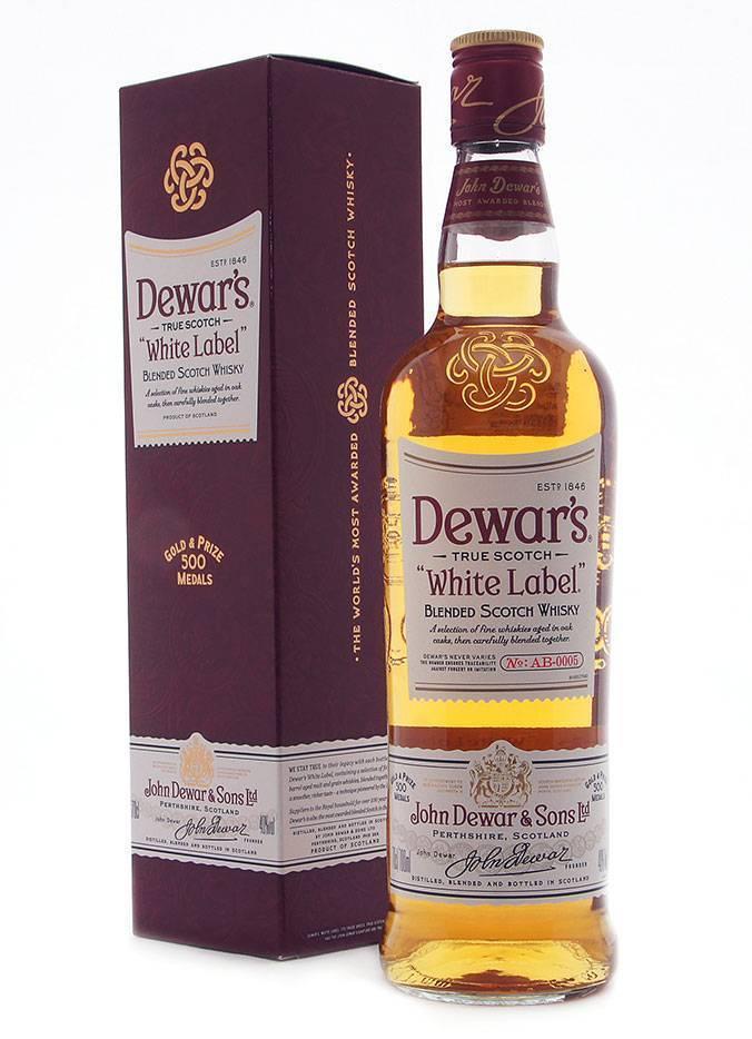 Виски дюарс (dewar's): обзор напитка, цена в россии, отзывы покупателей