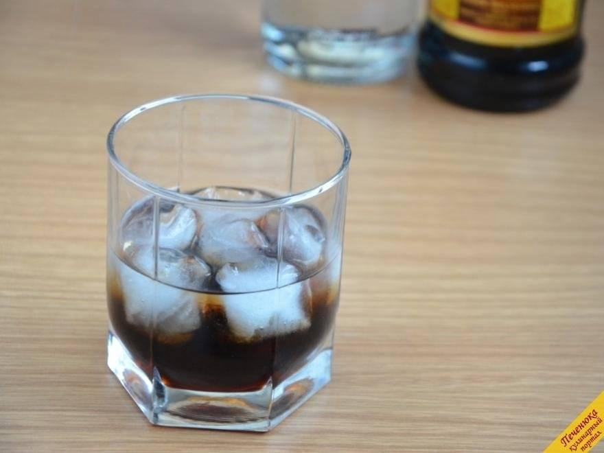 Белый русский коктейль — состав и рецепт