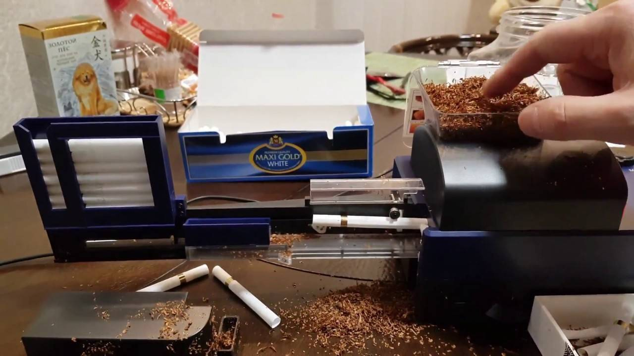 Описание оборудования, используемого при производстве сигарет