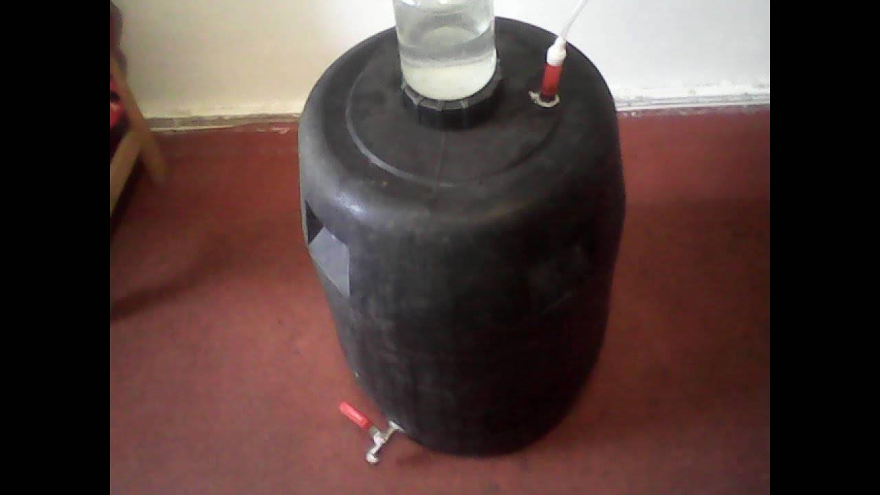 Приготовление браги для самогона