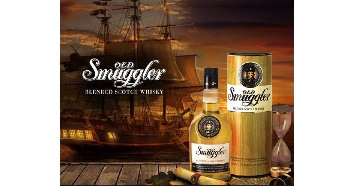 Виски old smuggler — изысканный букет для любителей классики