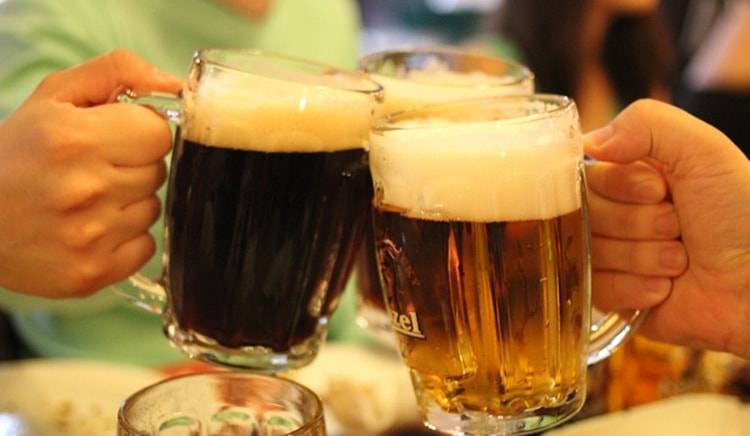 Темное пиво: сорта, названия, марки, а также отличие от светлого