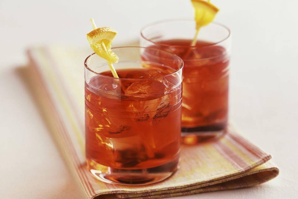Классический рецепт коктейля негрони