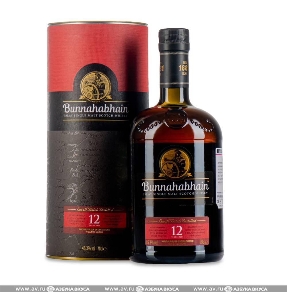 Виски bunnahabhain: особенности и отзывы