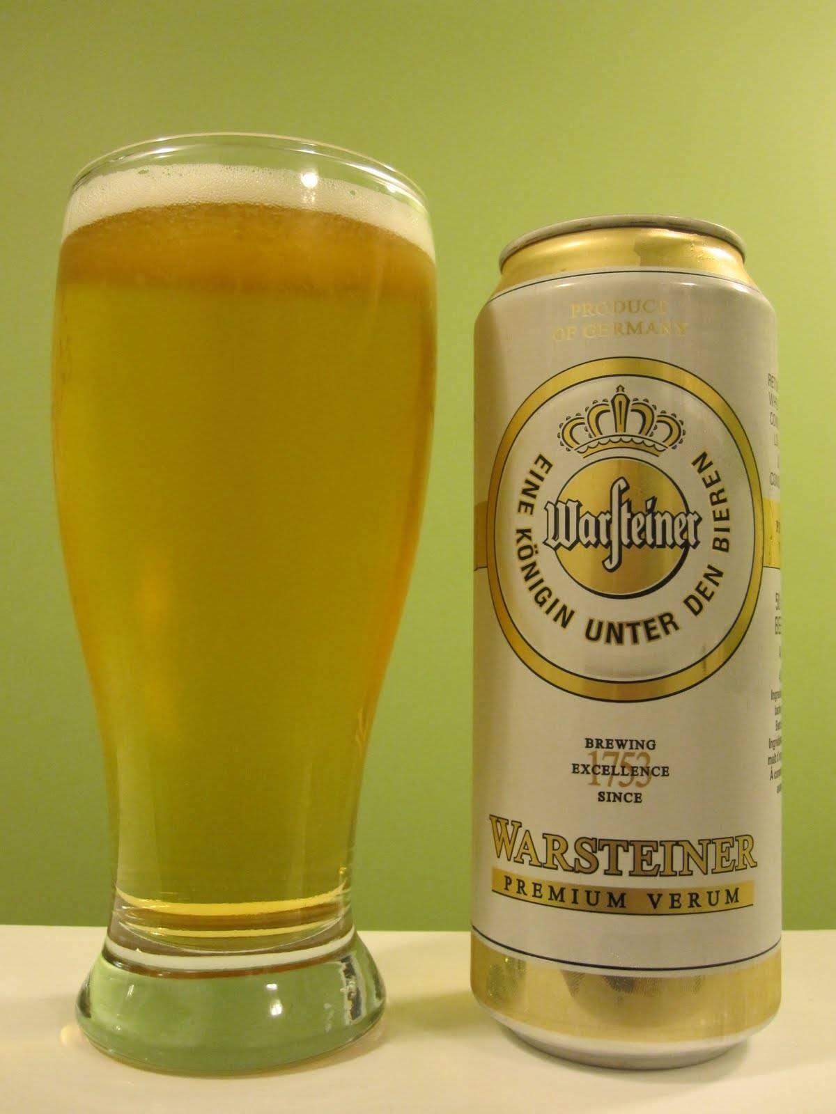 Обзор пива варштайнер