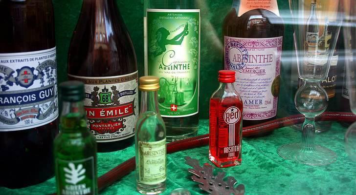 Абсент: сколько градусов алкоголя - зависимости