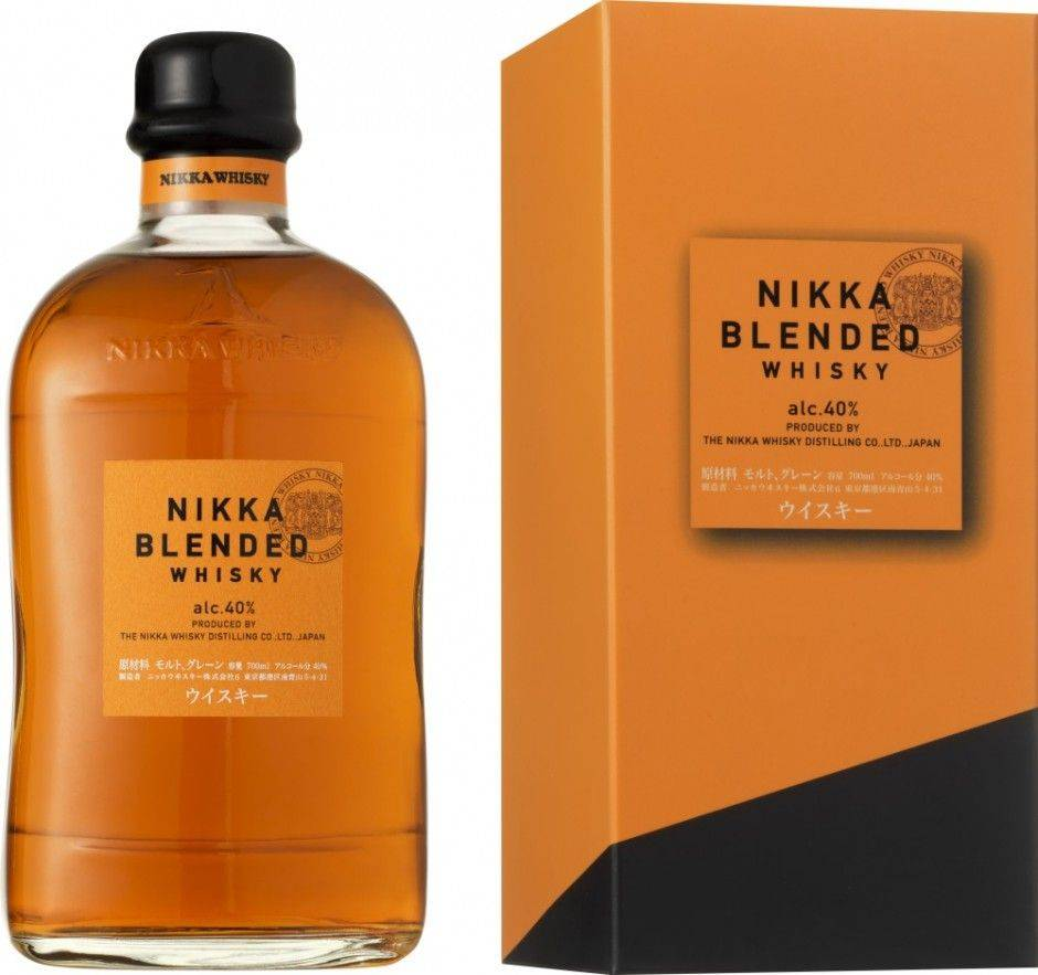 "Виски виски ""nikka"" black 8 years old, 0.7 л - ""никка"" блэк 8-летний, 700 мл"