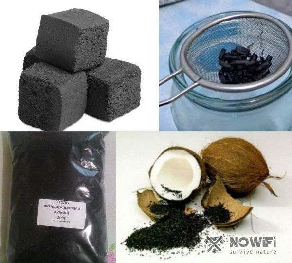 Очистка самогона активированным углём – древесным и таблетками