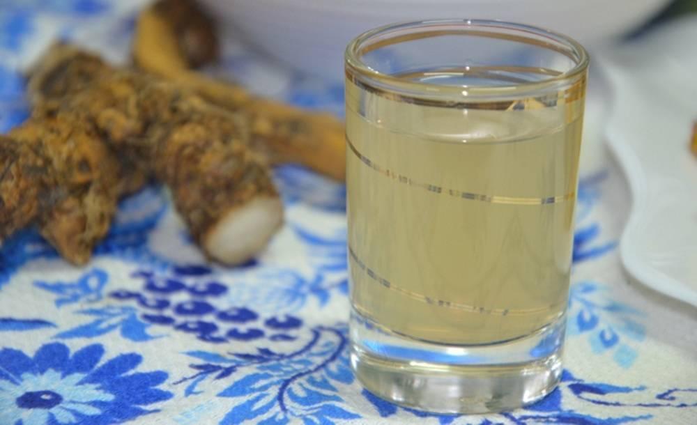 Настойка на спирту из имбиря