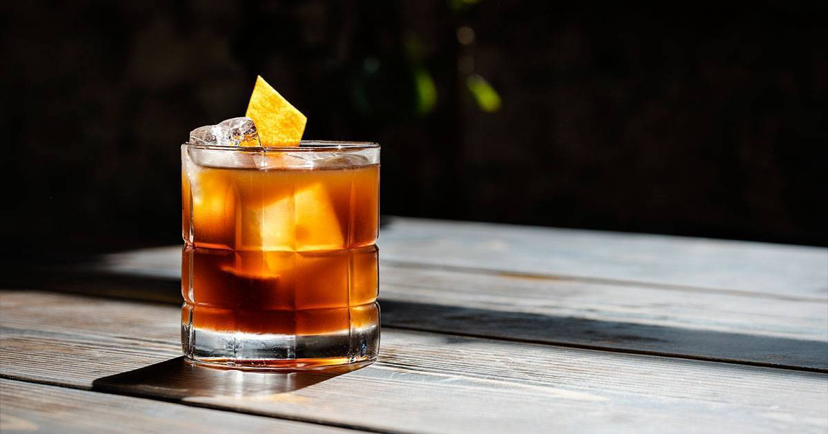 Коктейль олд фэшн | клуб любителей виски
