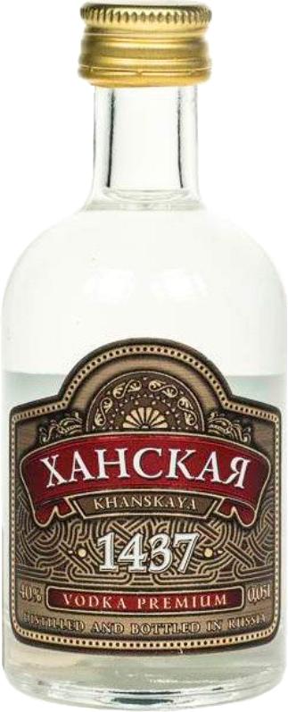 Обзор водки ханская