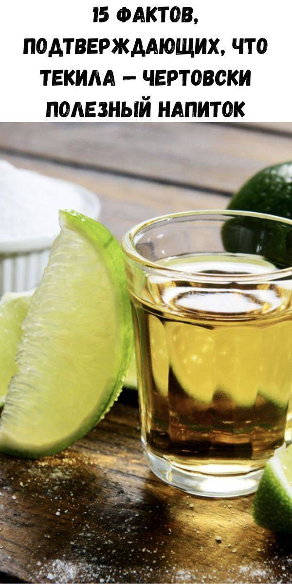 15 фактов, подтверждающих, что текила – полезный напиток