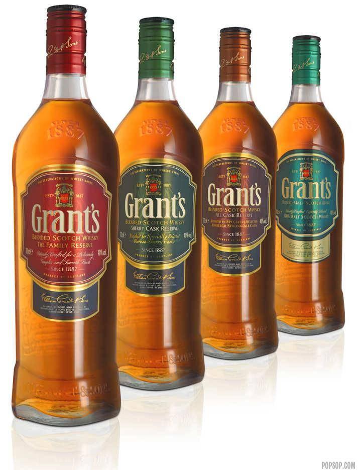 Шотландский виски грантс, отзывы и описание видов