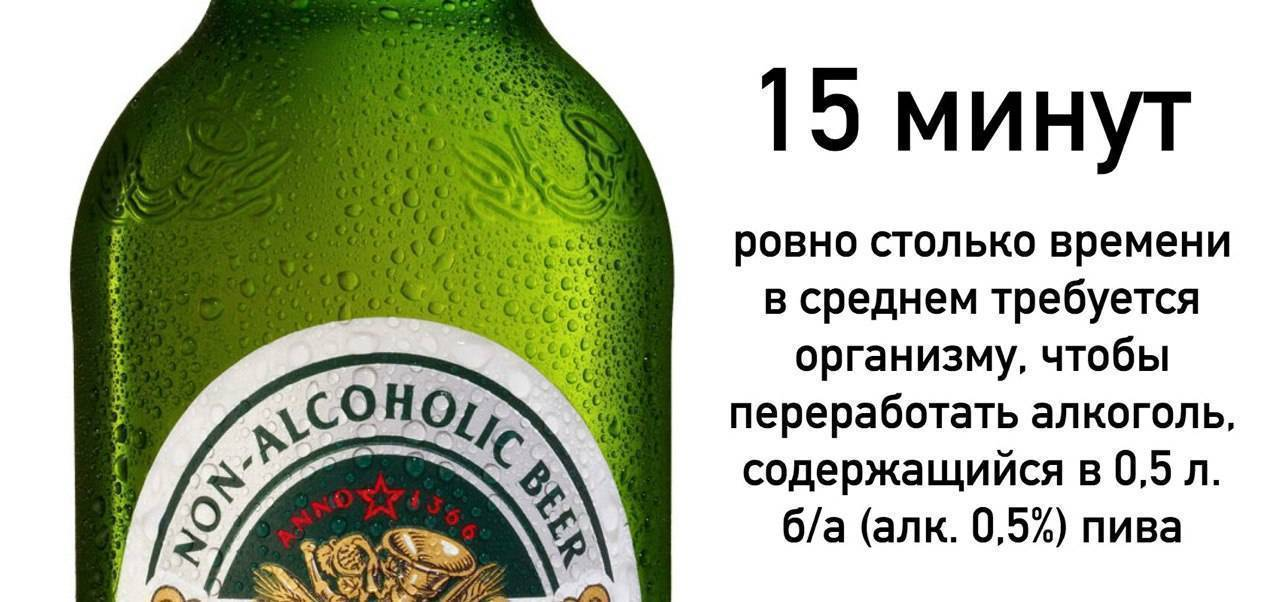 Есть ли алкоголь в безалкогольном пиве?
